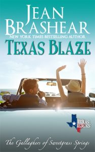 texas blaze sweetgrass springs texas heroes firefighter romance jean brashear