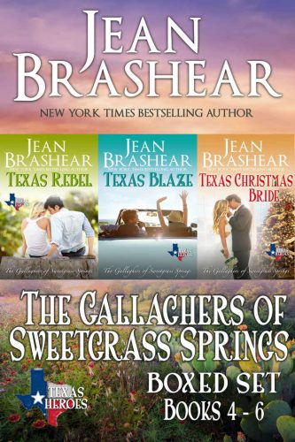 Gallaghers of Sweetgrass Springs small-town-romance-texas-heroes-jean-brashear-sweetgrass-springs-2