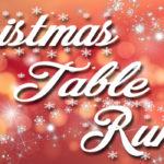 Christmas Table Runner by Jean Brashear