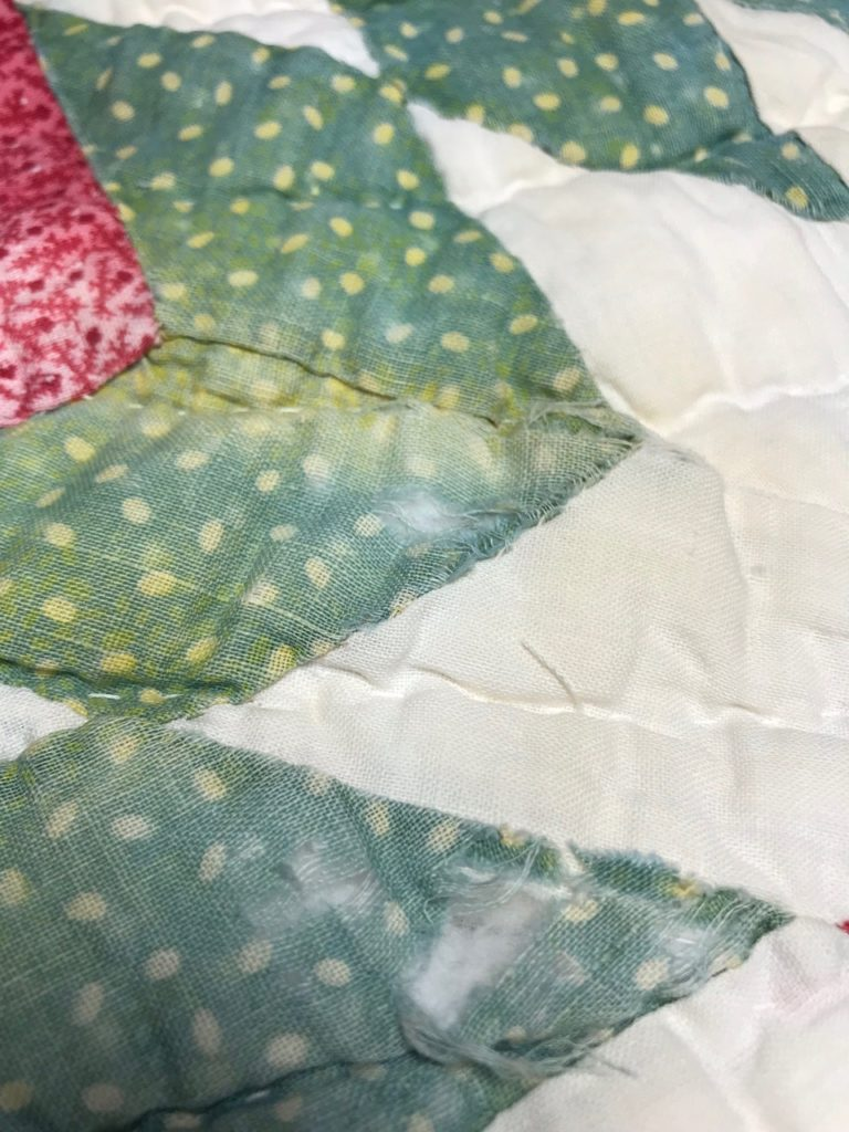 Repairing Antique Quilts by Jean Brashear
