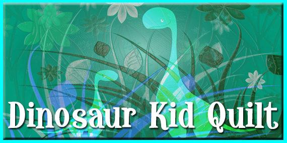 Dinosaur Kid Quilt